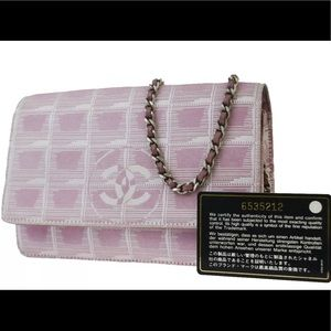 👜 Stunning Authentic Chanel Bag Chain Pink Luxury